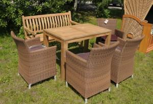 Sitzgruppe Hawaii, Tisch Nottingham 120