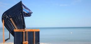 Strandkorbverkauf