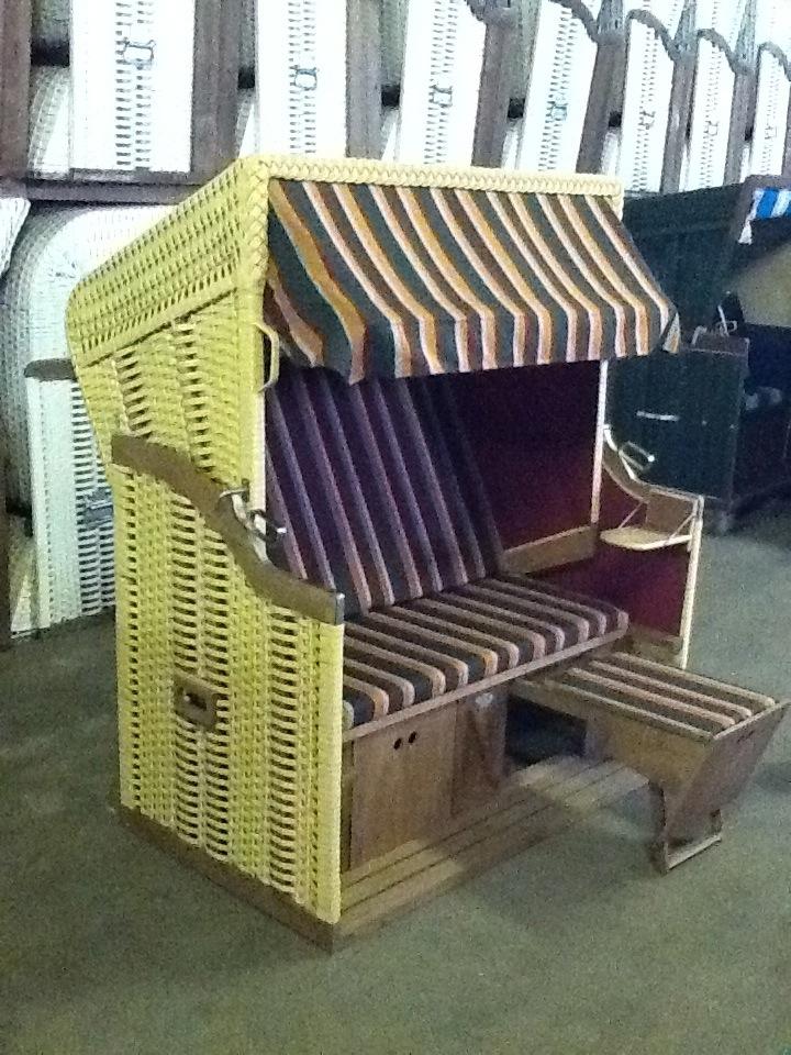 granitz xl preisreduziert ostsee strandkorb binz r gen. Black Bedroom Furniture Sets. Home Design Ideas