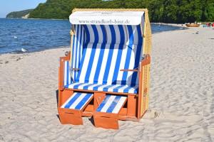 Luxus Vollliege Strandkorb XL
