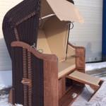 Königsstuhl PE Kupfer plastifiziert hellbeige